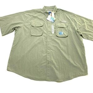 MAGELLAN Laguna Madre UPF 50 4XL Vented Shirt NEW